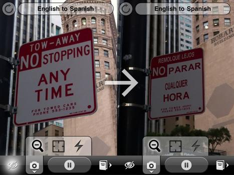 Word Lens Traductor con realidad aumentada | VIM | Scoop.it