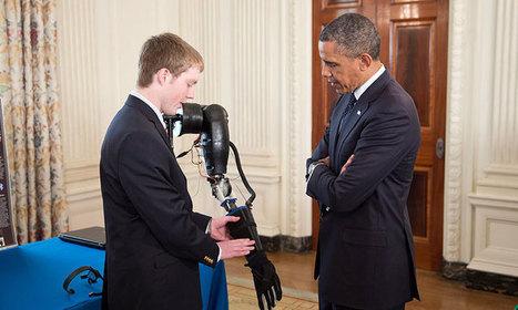 A 17 ans, il invente une prothèse de bras 160 fois moins coûteuse que celles déjà commercialisées | Christian Querou | Scoop.it