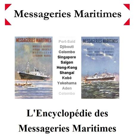 #ChallengeAZ : M comme Messageries Maritimes - son histoire, ses cargos, ses paquebots | Nos Racines | Scoop.it
