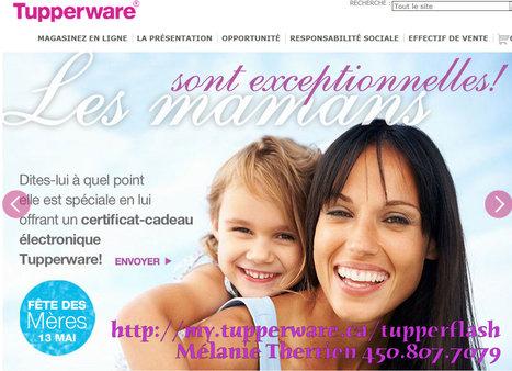 Vous cherchez un cadeau pour votre maman ? Pourquoi pas un certificat cadeau Tupperware ! | Tupperware, pourquoi pas ? | Scoop.it