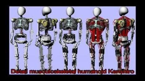 Découvrez Kenshiro, un robot japonais avec des muscles et des os | My Favorite Topics | Scoop.it