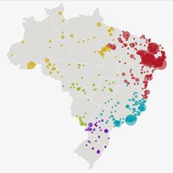 Cartografía das mortes com motivação política no Brasil   Cartografia Ciudadana   Scoop.it