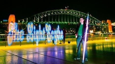 LED light painting: Geeks creating works of art through tech | Maker Stuff | Scoop.it