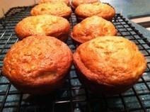 Dairy-free banana applesauce muffins | My Vegan recipes | Scoop.it