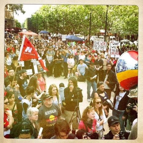 Occupy Protests Live Blog | Al Jazeera Blogs | 15.O-Unitedforglobalchange | Scoop.it