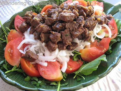 Wandering Chopsticks: Vietnamese Food, Recipes, and More: Bo Luc Lac (Vietnamese Shaking Beef) | The Asian Food Gazette.