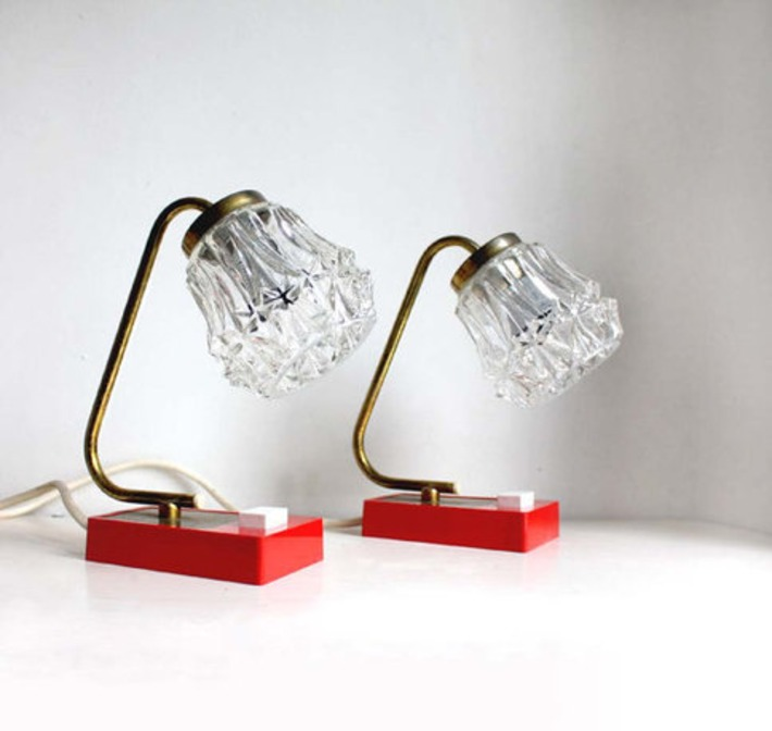 1960s Pair of Accent Table Lamps | Antiques & Vintage Collectibles | Scoop.it