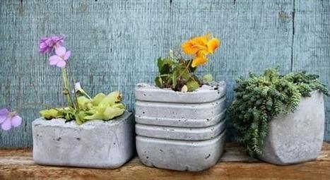 Fabriquer Ses Pots De Fleurs En Ciment Ma