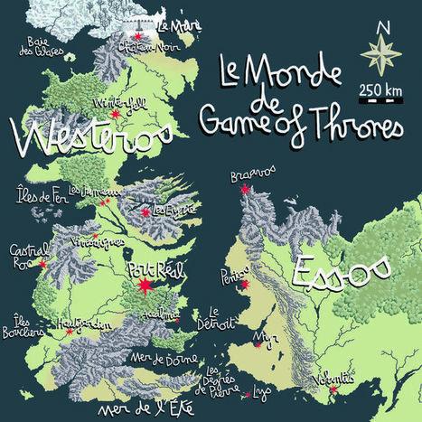 Westeros, en terre connue | Géographie : les dernières nouvelles de la toile. | Scoop.it