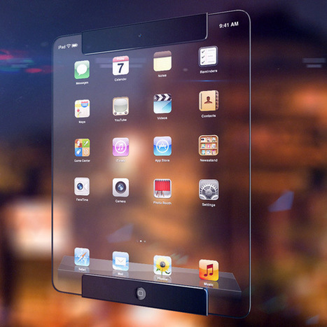 The Look of iPad Concept Design | SEO Labs | Scoop.it