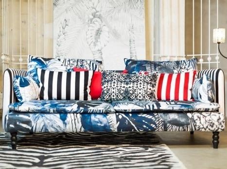Bemz In Tissu Dameublement Art Textile Et Papier Peint De Luxe