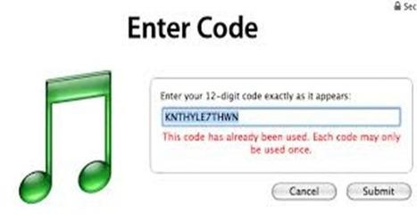 Find Free iTunes Codes   Scoop it