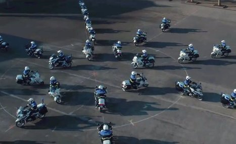 Weekend Awesome – Mesmerizing Dance of the French Motorcycle Police | California Flat Track Association (CFTA) | Scoop.it