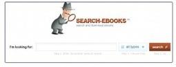 Chercher des livres gratuits en plusieurs formats grâce à search-ebooks | Geekaison | Outils et  innovations pour mieux trouver, gérer et diffuser l'information | Scoop.it