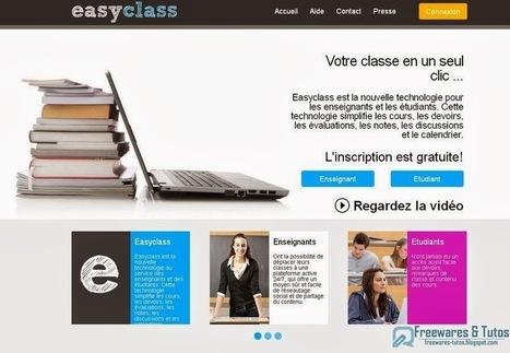Easyclass : une plate-forme d'apprentissage pour les enseignants et les étudiants   Apprendre autrement   Scoop.it