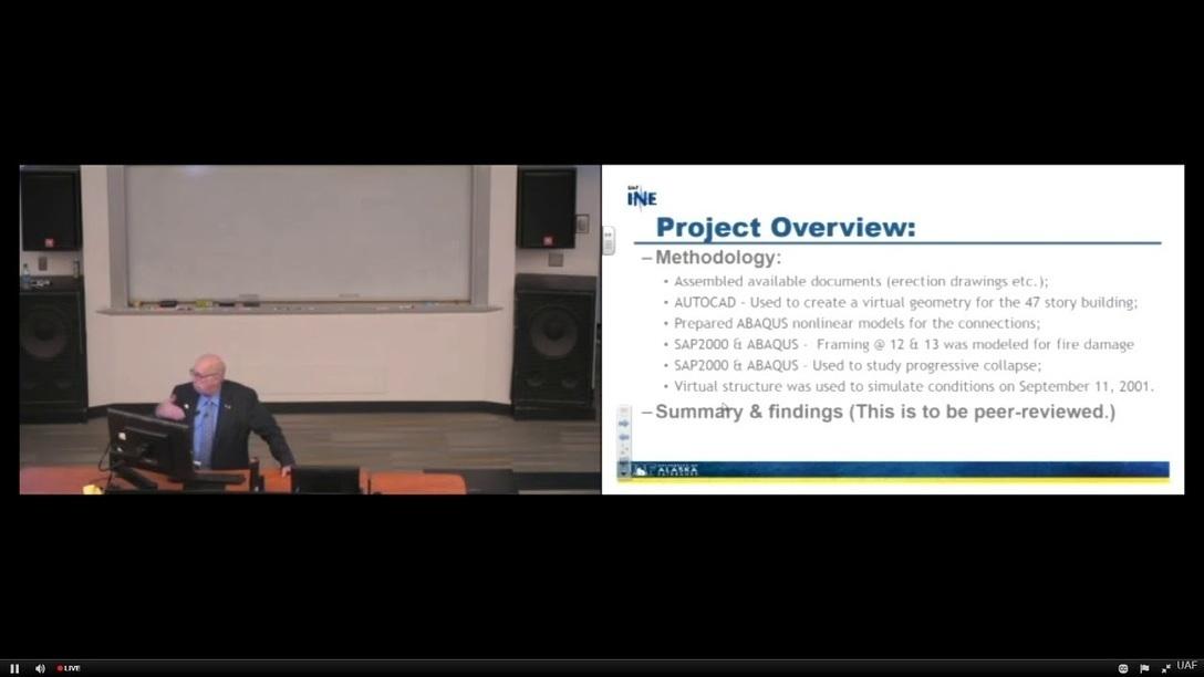 WTC7 Evaluation Presentation by Dr  Leroy Hulse