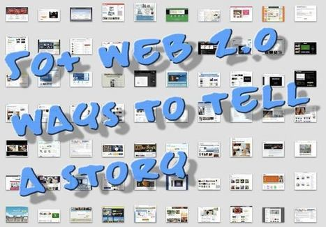 50+ Web 2.0 Ways to Tell a Story   21st century learning   Scoop.it
