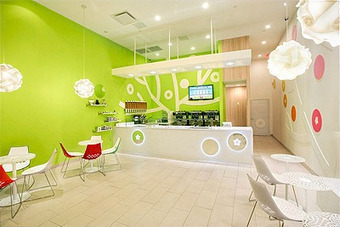 New Fresh Look for a Yogurt Shop - Commercial Interior Design News | Mindful Design Consulting | R A N D O M S T Y L E | Scoop.it