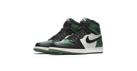 997bf9459edb3d Pine Green New Air Jordan 1 High OG Shoes 555088-302 Release Date
