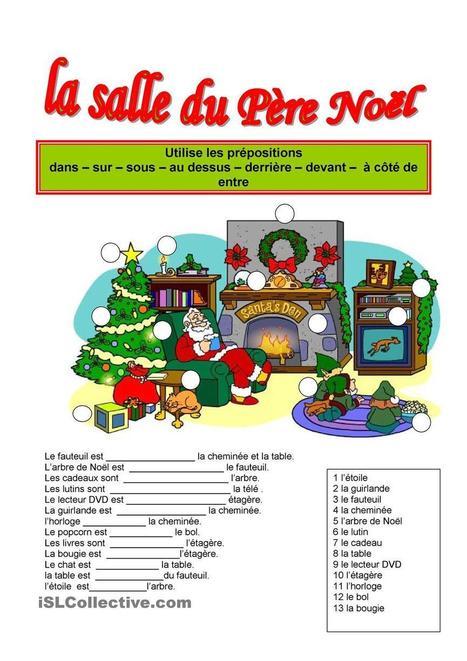 La salle du père Noël | Français Langue étrangère | Scoop.it