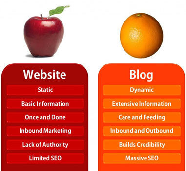 Websites vs. Blogs – Which One is Better and Why? | All about content | Scoop.it