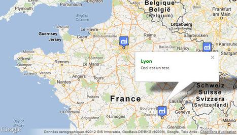 Créer une carte Google Maps personnalisée   Time to Learn   Scoop.it