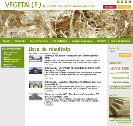 Architecture De Terre  Matriaux BioSourcs Page   ScoopIt