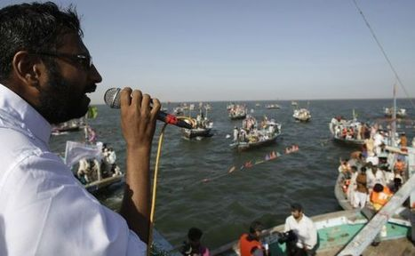 Politics is a fishy business: Pakistani lawmaker holds political rally at sea - Fox News | Politicality | Scoop.it