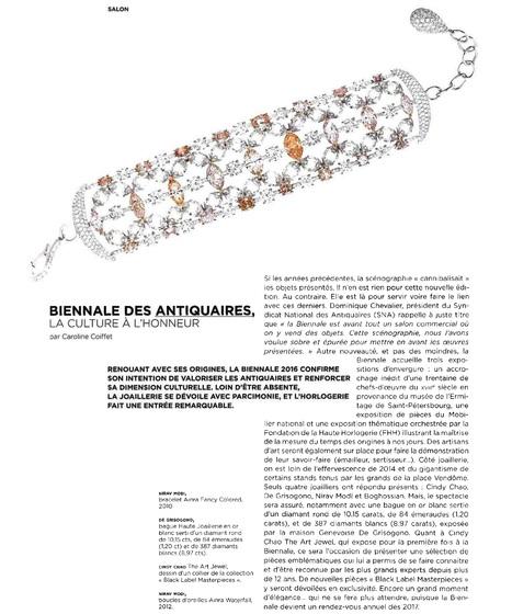 Biennale des Antiquaires: la culture à l'honneur (1/2)   La Biennale - Paris   Scoop.it