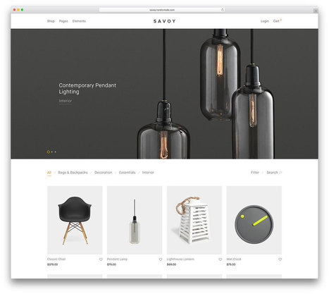 In Time For the Holidays - 39 Awesome eCommerce WordPress Themes | Ecom Revolution | Scoop.it