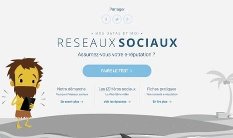 Mes Datas et moi. Réseaux sociaux et e-réputation – Les Outils Tice | E-Learning Methodology | Scoop.it