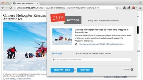 A Better Way to Share Web Pages by Email | Geeks | Scoop.it
