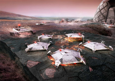 Foster + Partners reveals concept for 3D-printed Mars habitat | Humans Being | Scoop.it