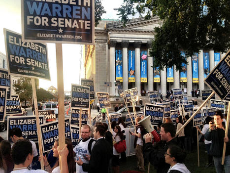 photo: The crowd keeps growing in Springfield the closer we get to the #masendebate! | Massachusetts Senate Race 2012 | Scoop.it
