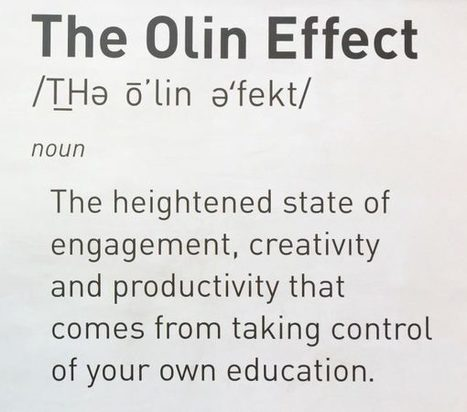 "Making ""The Olin Effect"" Your Own - Will Richardson 