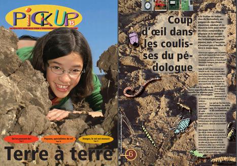 Pick-up  N°16 : Terre à Terre,un ouvrage destiné aux élèves de 13 à 16 ans | SPATEN   Test Bêche | Scoop.it