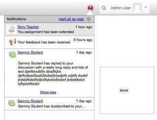 New Messaging and Notifications page coming in #Moodle 3.2 - Moodle World | moodle3 | Scoop.it