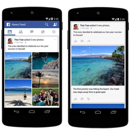 Nouveauté: L'application Facebook améliore le partage des photos.   toute l'info sur Facebook   Scoop.it