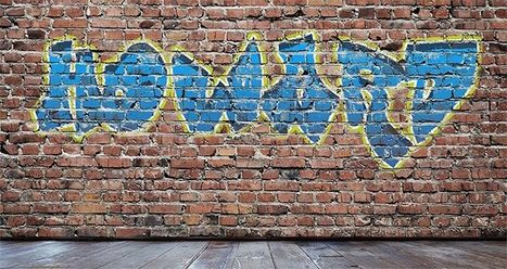Create a Colorful Graffiti on a Grungy Brick Wall in Photoshop   Photoshop Text Effects Journal   Scoop.it