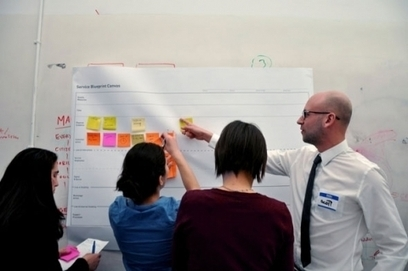 Using Service Blueprints to Create a Holistic Experience | Moment | Service design | Scoop.it