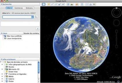 Prise en main et utilisation pédagogique de Google Earth / Google Maps | tice | Scoop.it