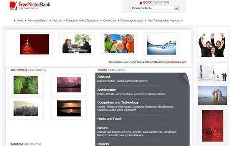 FreePhotosBank, banco de imágenes gratuitas para descargar | RIATE | Scoop.it