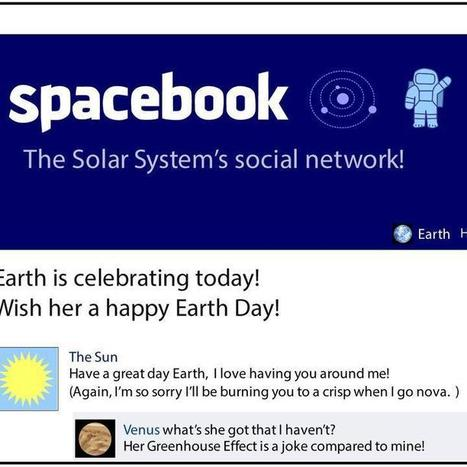 If Planet Earth Had a Facebook Account [COMIC] | Media Trends in Korean View | Scoop.it
