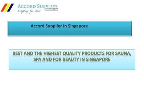 Accord Supplies In Singapore | Scoop it