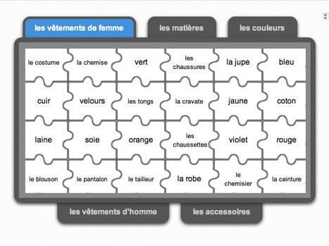 Exercice In Sites Pour Le Francais Langue Seconde Scoop It