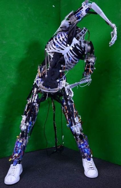 Actualité > Kenshiro, ce robot humanoïde qui nous ressemble ...   Cyborgs_Transhumanism   Scoop.it