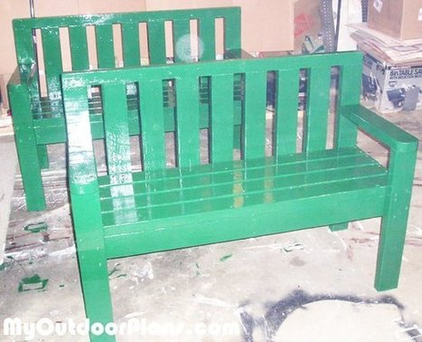 DIY 2x4 Benches | MyOutdoorPlans | Free Woodworking Plans and Projects, DIY Shed, Wooden Playhouse, Pergola, Bbq | Garden Plans | Scoop.it