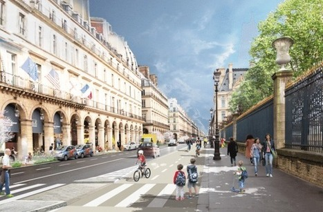 Paris Pushes Its Car-Free Streets Plan Even Further | #territori | Scoop.it