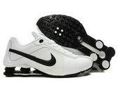 buy popular d7403 a9b8d chaussures nike shox r4 homme (blanc noir) pas cher en ligne.