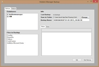 Rincevent Blog Poker: Transferer sa base Holdem Manager - backup and restore | Actualité Poker | Scoop.it